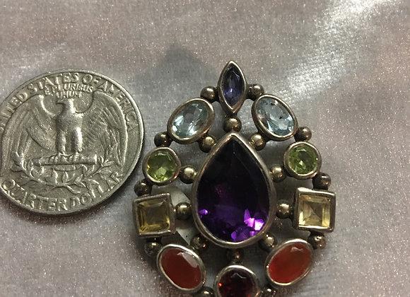 Chakra Pendant Sterling Silver