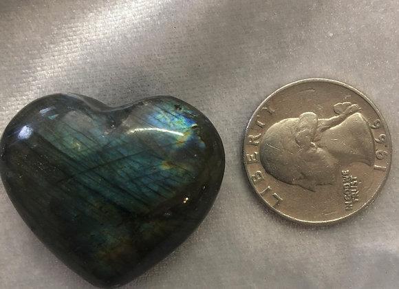Labradorite Heart smaller one