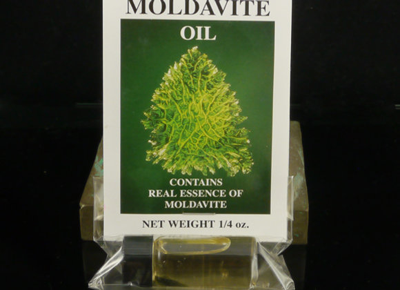 Moldavite Oil w/Moldavite