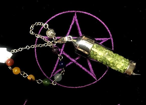 Peridot Charka Pendulum