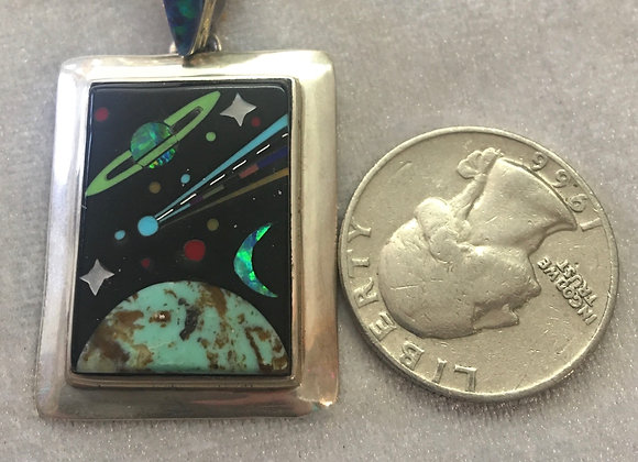 Cosmic Inlay Sterling Silver
