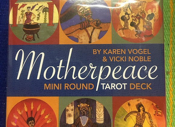Motherpeace Tarot - mini round cards