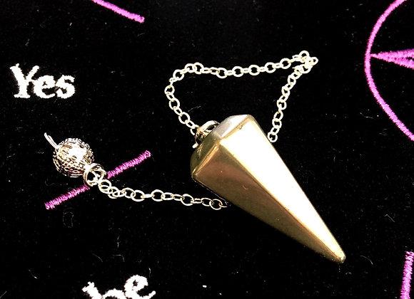 Pyrite Pendulum