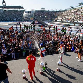 Winner Benito Guerra (MEX) celebrates wi