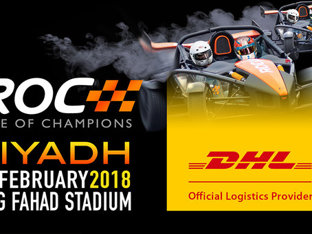 DHL Express renews partnership with Race Of Champions.