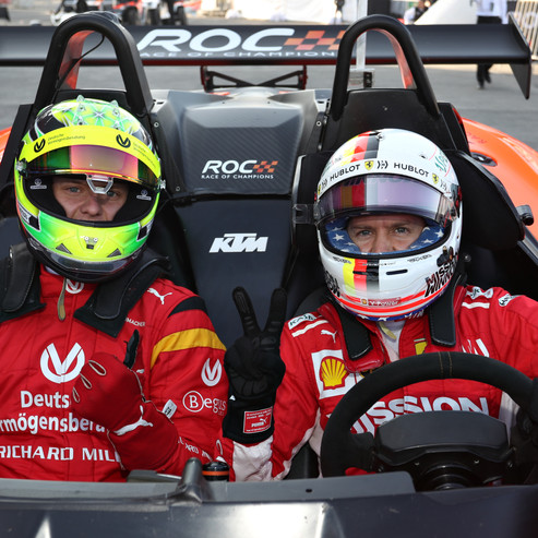 Sebastian Vettel (GER) prepares to drive