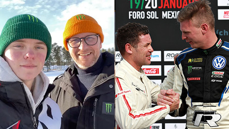 Nordic stars first drivers confirmed for ROC by Arctic circle in Sweden.