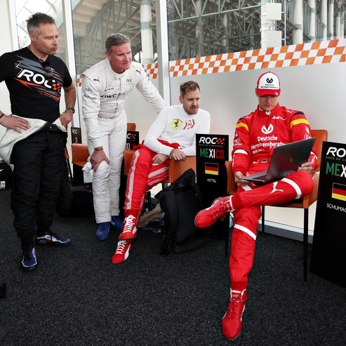 Andy Priaulx (GBR), David Coulthard (GBR