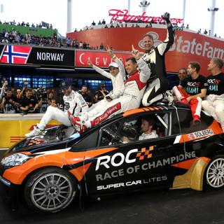 ROC Miami 2017_USA vs the World_winners celebrate on top of the Rallycross car.jpeg