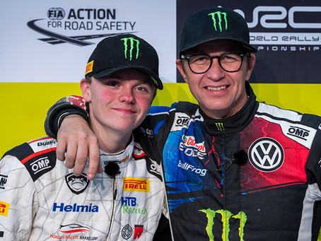 Petter and Oliver Solberg ready for Virtual ROC Nations Cup.