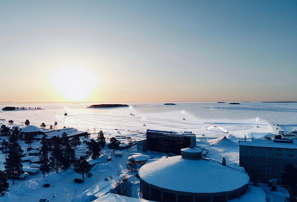ROC World Final 2022 on Snow & Ice at Pite Havsbad, Sweden.