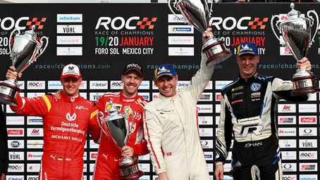 Team Nordic's Kristensen and Kristoffersson win ROC Nations Cup in Mexico City.