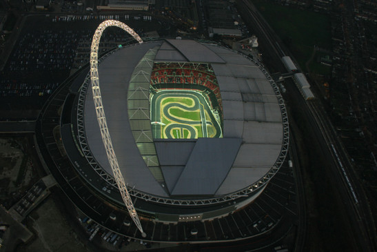 18883 - Wembley stadium as never before.
