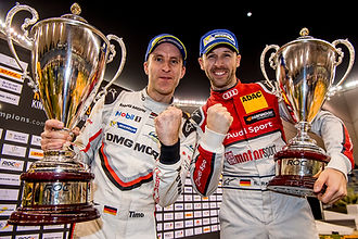 News_Rene Rast (GER) and Timo Bernhard (