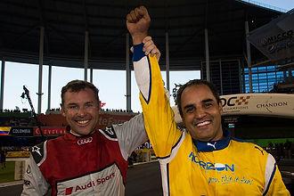 News_Juan-Pablo Montoya (COL) celebrates