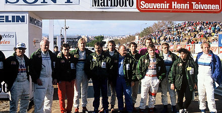 ROC Barcelona 1990_Drivers Family Photo.