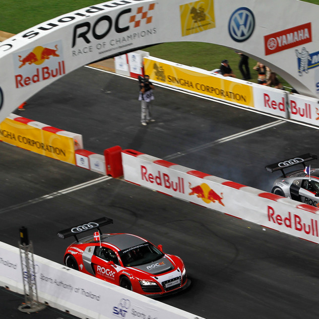 ROC Bangkok 2012_Race Of Champions_Tom Kristensen Vs Sébastien Ogier in Audi R8 LMS