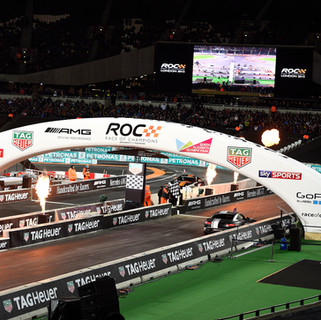 ROC London Olympic Stadium 2015_Head-to-head in Mercedes AMG GT S