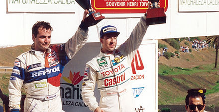 ROC Canary Islands 1993_Podium_Auriol an