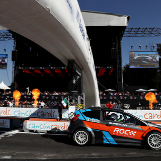 Benito Guerra (MEX) win in the RX Superc