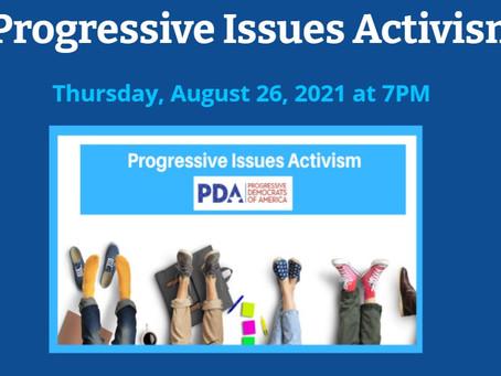 Progressive Issues Activism