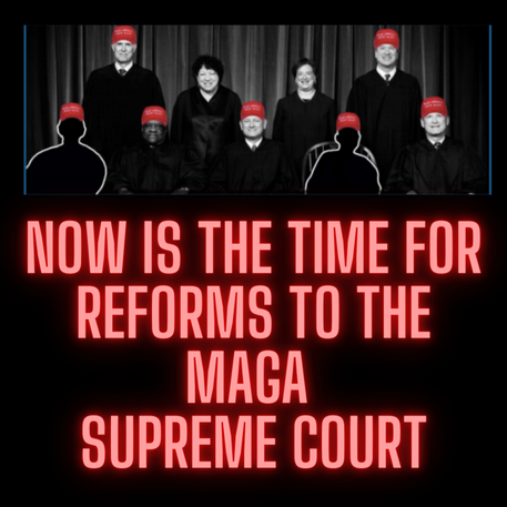Sign the petition for reforms to the Supreme Court