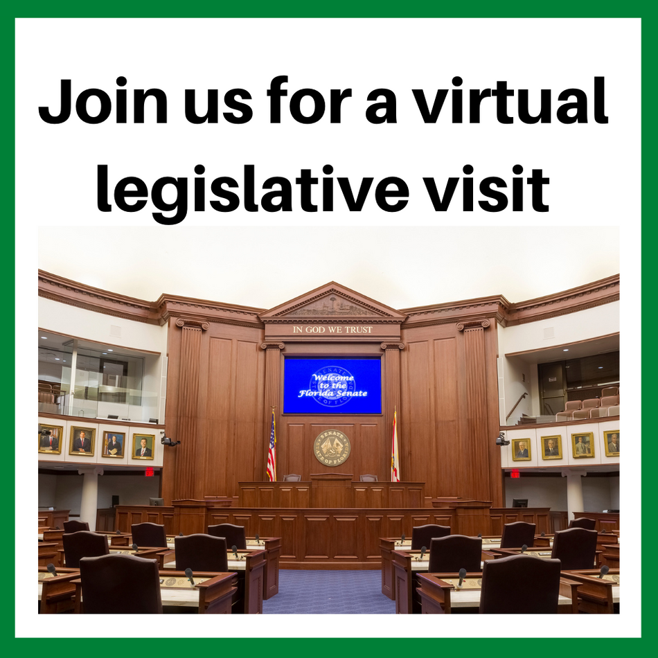 Join us for a virtual legislative visit