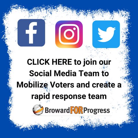 Join our SOCIAL MEDIA TEAM to mobilize voters and create a rapid response team