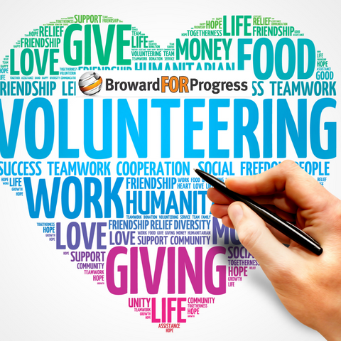 Volunteer and take action with Broward for Progress. Volunteers make a difference!