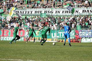 Sachsenpokal gegen die BSG Chemie Leipzig