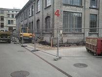 Baustelle an der Uni Bern