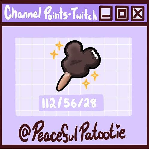Twitch Channel Points - Disney Mickey IceCream // Kawaii
