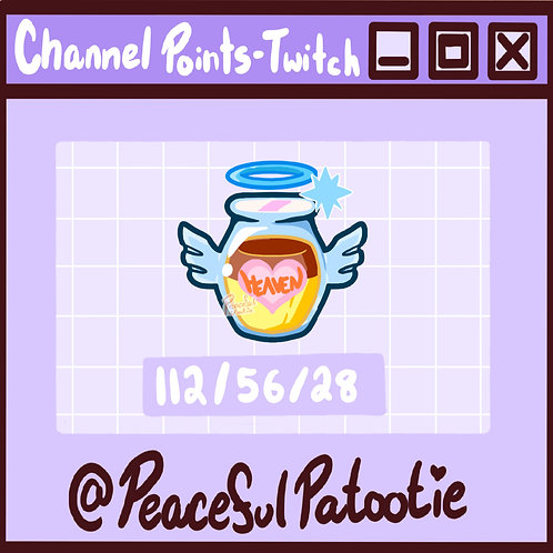 Twitch Channel Points - Heavens Pudding