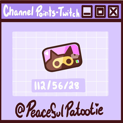 Twitch Channel Points - Animal Crossing PINK Nook Miles