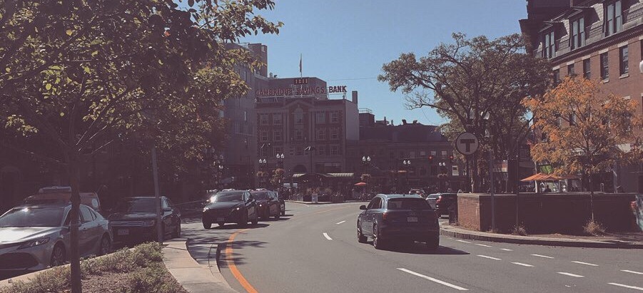 Being in Boston, Felt like a Movie