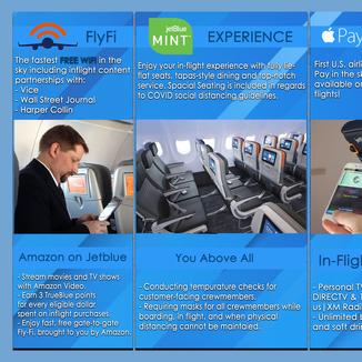 JetBlue Brochure (Back)