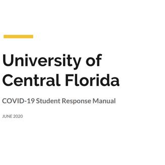 COVID-19 STUDENT RESPONSE MANUAL