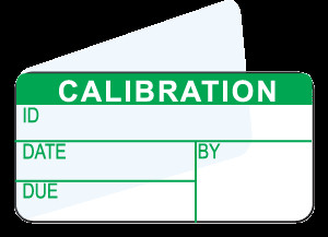 minimum info for calibration label