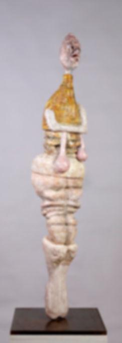 Gilet Jaune et sans culotte, 13x35x35 cm