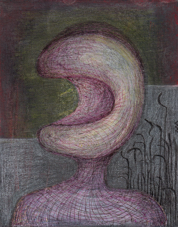 Portrait, 24x19 cm