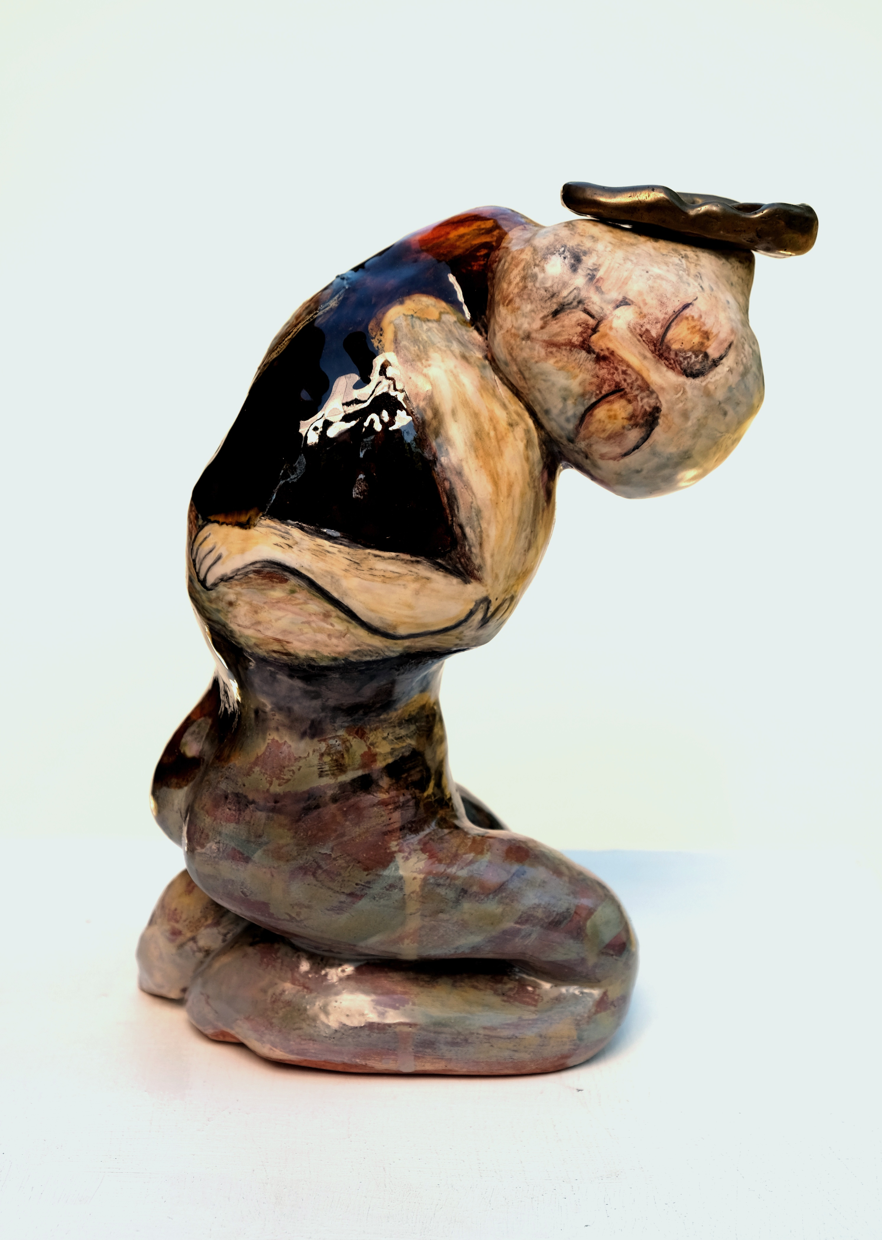 Foetus adulte I, 30x20x10 cm, vend