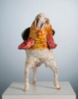 Annie G Mallet Jolie poulette, céramique, photo Gregor Podgorski