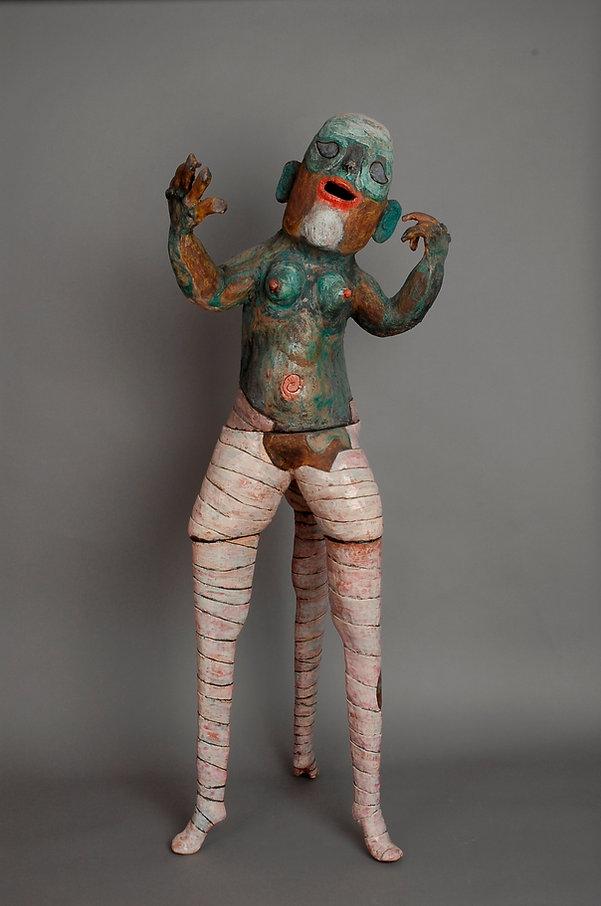 Nefertit, 120x45x35cm, photo Alexandra C