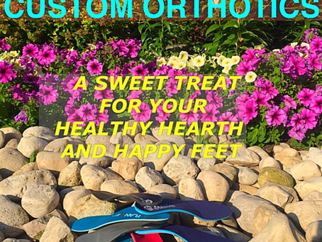 Custom Orthotics for Foot, Knee, Hip and Back Pain