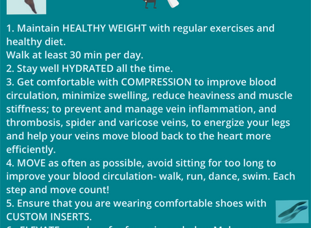 7 Tips For Healthy Legs