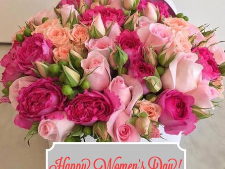 Happy International Women's Day-March 8th!