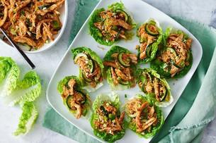 Peri Peri Chicken & Rice Lettuce Cups
