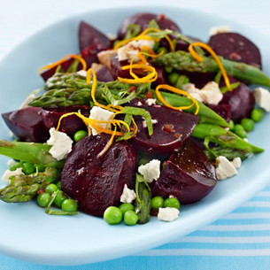 Beetroot Salad with Balsamic Dressing