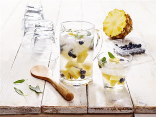 Blueberry, Pineapple & Sage Water