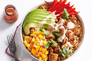 Cajun Rice Chicken Bowl